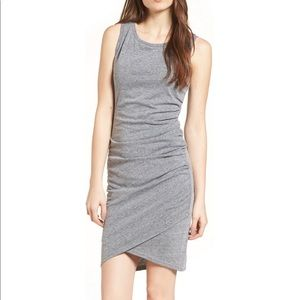 Leith body con ruched dress